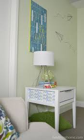 laminate furniture makeover. Painted Laminate Side Table Makeover Furniture