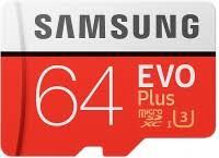 <b>Samsung</b> EVO Plus 100 Mb/s microSDXC UHS-I U3 64 ГБ (MB ...