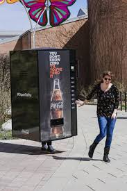 Coke Zero Vending Machine Stunning Throughout Indianapolis People Dressed As Coke Zero Vending