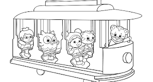 Small Picture Daniel Tigers Neighborhood Birthday Party Activities PBS