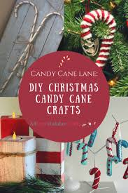 Candy Cane Lane Decorations Candy Cane Lane 60 DIY Christmas Candy Cane Crafts 37