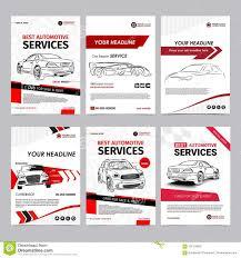 Auto Repair Flyer Auto Repair Services Business Layout Templates Set