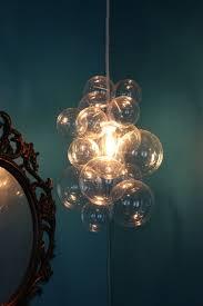 bubble glass light fixtures splendid diy chandelier chandeliers lights and interiors decorating ideas 29