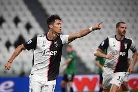 Cristiano Ronaldo rettet Juventus mit zwei Handelfmetern ein Remis gegen  Atalanta Bergamo - DER SPIEGEL