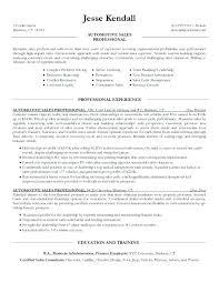 Car Salesman Resume Inspiration 3815 Car Salesman Resume Sales Examples Template Manager Mklaw