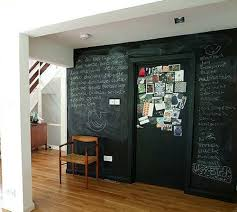 Chalkboard paint from John Erdos Home in Dempsey