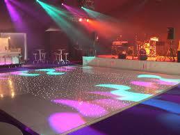 10ft x10ft white led starlit dance floor hire wed