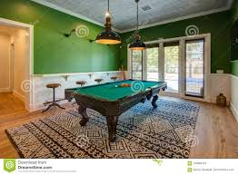 Modern billiard room home billiards Basement Beautiful Pool Game Table Takes Center Stage In The Pool Entertainment Room Of This Modern Home Homes Of The Rich Modern Home Pool Game Room With Table Stock Photo Image Of Artwork