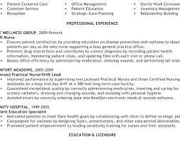 Sample Licensed Practical Nurse Resume Example Nursing Resumes ...