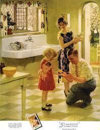 standard plumbing fixtures 1920 s i want that sink old ads
