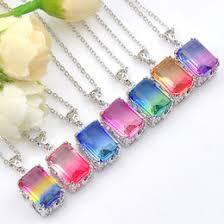 whole vine square charms canada hugo rainbow 7pcs lot holiday jewelry gift square vine bi