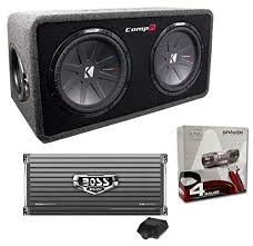 kicker dcwr122 12″ 3200w car subwoofers subs box 4000 watt this package includes