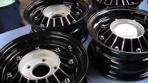 1965-1968 Pontiac 8 Lug Drums and Wheels Complete - YouTube