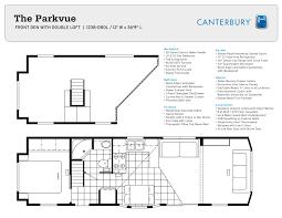 park model options canterbury park model rvs pl8 parkvue dbdl