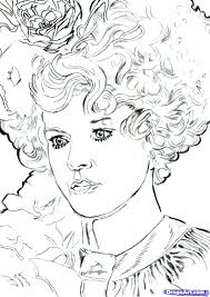 Hunger Games Coloring Pages Printable L Duilawyerlosangeles