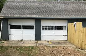 garage door makeover the lilypad cote garage door makeover gel stain