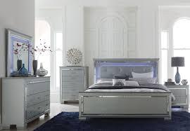 led lighting bedroom. homelegance allura collection king size bedroom set with led lighting 1916k1ek led