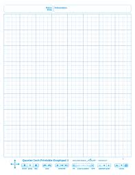 Quarter Inch Printable Graphpads 1 4 Rohan Kapoor