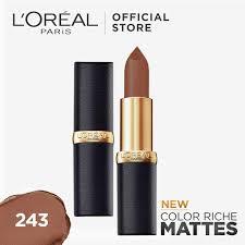 color riche matte lipstick by l oreal paris