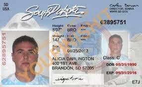 Od Id Card South Dakota