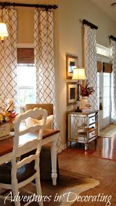 Best Farmhouse Window Treatments Ideas On Pinterest Window - Dining room curtain designs