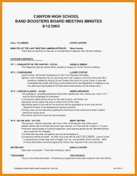 Format For Minutes Writing 10 Sample Format For Minutes Of The Meeting Proposal Sample