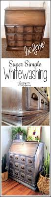 white washing furniture. Simple WHITEWASHING Technique For Furniture! {Reality Daydream} White Washing Furniture