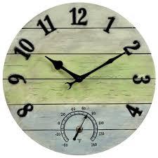 weathered combo og wall clock