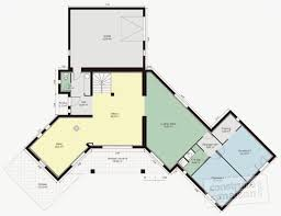 plan maison plain pied 200m2 source d inspiration modele maison contemporaine plain pied