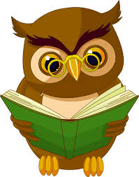 picture black and white library grammar clipart owl transpa with book png
