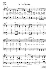 in the garden sheet music. Plain Music And In The Garden Sheet Music