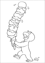 perfect curious george coloring page for your free coloring book with curious george coloring page
