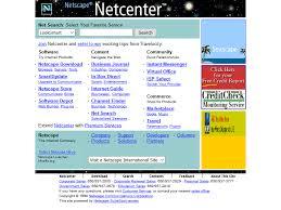 Netscape Website In 1998