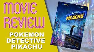 Roobla Movie Review - Pokemon Detective Pikachu (2019) - YouTube