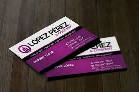 business business card design for lopez perez pany in united states design 3290115
