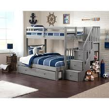 olympic white wooden bunk beds with desk and trundle best bed ideas on kids staircase