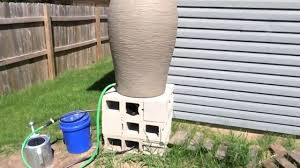 gravity fed rain barrel drip irrigation to 4 raised garden beds and fruit trees diy wisconsin