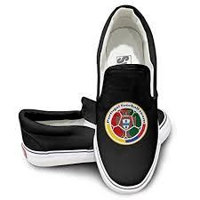 Deamoon Portugal Football Skate <b>Unisex Flat Canvas Shoes</b> ...
