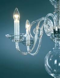 crystal chandeliers chandelier made of hand blown smooth crystal glass all metal parts
