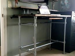 plumbing pipe table fancy pipe desk standing desks built with pipe and projects plumbing pipe table plumbing pipe table