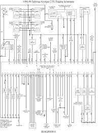 chrysler ecu wiring all wiring diagrams info 1998 ford taurus 3 0l mfi dohc 6cyl repair guides wiring