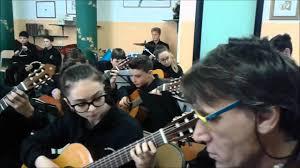 26 aprile 2016, in sala prove con l'Orchestra scolastica Giacomo Matteotti  della Città di Aprilia