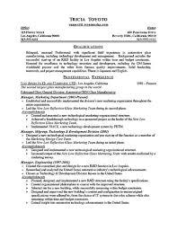 Gallery Of Sample Bartender Resume Onebuckresume Resume Layout