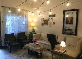 indoor string lighting. String Lights In Living Room Home Design Ideas And Pictures Indoor . Lighting T