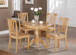 Wooden Round Kitchen Table Round Kitchen Table Sets Decorating Pictures A1houstoncom