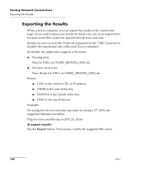Exporting the results   EXFO FTB-1 User Manual   Page 190 / 234