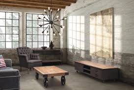 Industrial Living Room Design Industrial Inspired Living Rooms Carameloffers