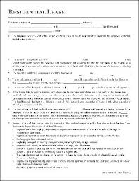 Residential Lease Contract Free Residential Lease Agreement Husband And Wife To
