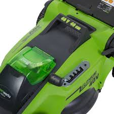 <b>Газонокосилка аккумуляторная GreenWorks</b> G40LM41K4, 40 В, 40 ...