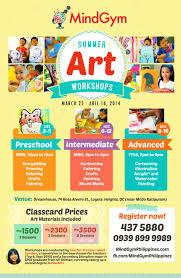 Summer Art Workshops In Katipunan Quezon City Art Class